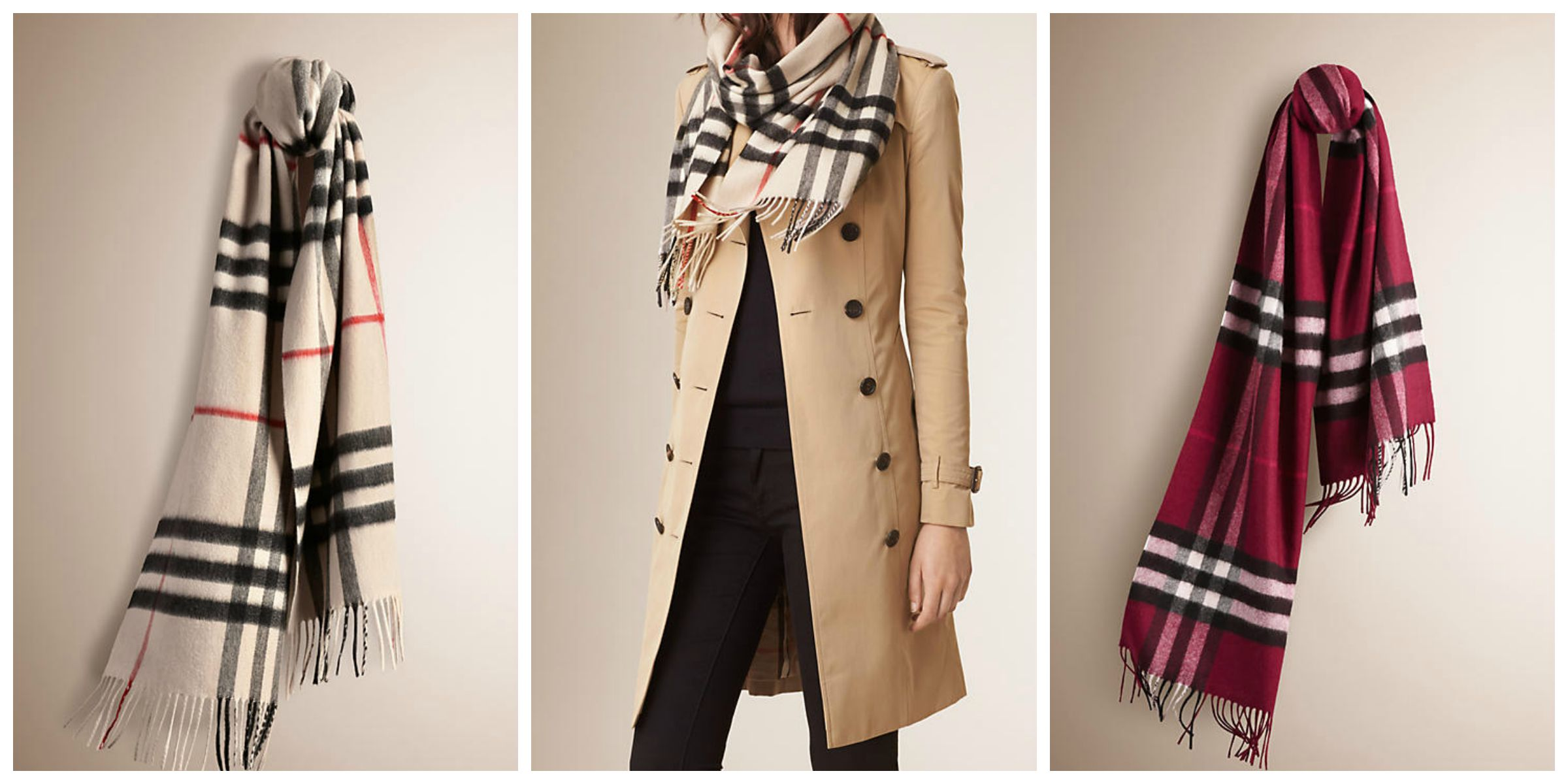 Wardrobe Wish List    Burberry Cashmere Scarf 321be4d86e